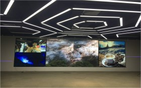Intermediate LED screen, 46 inch 11 16 units, Shenzhen Internet of Things Listed Group Project